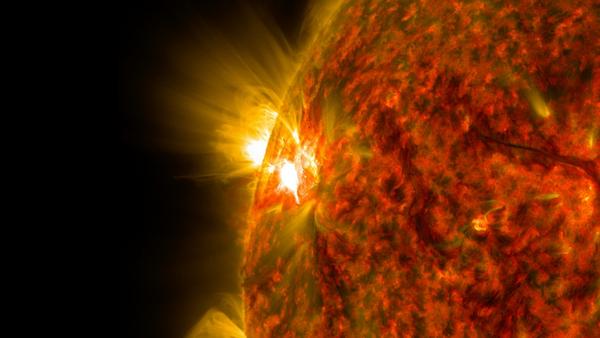 Solen flare1
